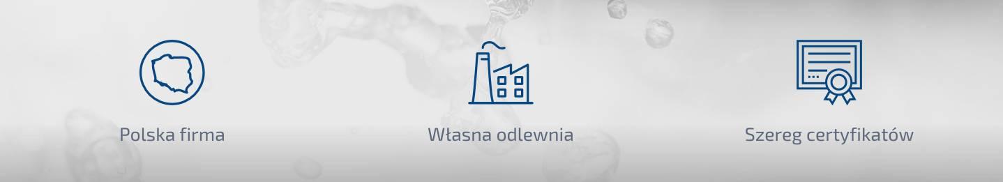 Jafar, polska firma, własna odlewnia, szereg certyfikatów